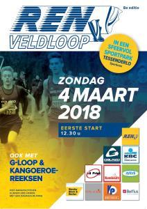 2018 Veldloop Flyer